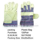 Schweißens-Sicherheits-Handschuhe vom Hersteller Tragen-Resistane
