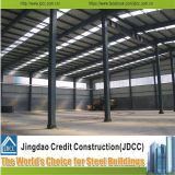 Estructura de acero prefabricada del edificio industrial