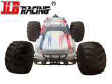 RTR - Jlb Racing RC 1: 10 Scale 4X4 Brushless Monster Truck (BLANC / ROUGE)