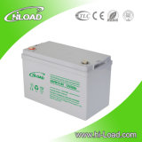 La válvula modificada para requisitos particulares de 12V 55ah reguló la batería de plomo