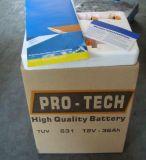 Batterie chargée sèche de voiture du model 631 de Saba