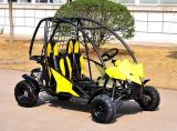 O gás de 4 veículos com rodas elétrico vai carrinho de Kart para a exploração agrícola (KD 110GKT-2)