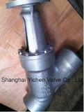 Тип нормальный вентиль сварки в стык y