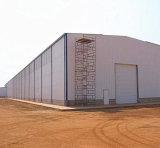 Edificio modular ligero prefabricado del almacén de la estructura de acero (KXD-SSW16690)