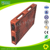 Logística Storage Plastic Transport Pallet for Cargo with Grabs