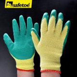 Luva da segurança do trabalho do látex (SY-002)