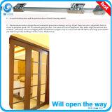 Mecanismo de abertura de porta deslizante Semi-Auto para portas de madeira