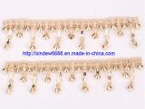 Decoração Chain da sapata do Rhinestone do aparamento da sapata para a sapata das mulheres