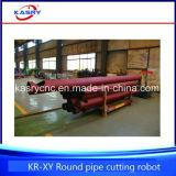 Línea de corte del tubo del CNC tipo cortadora de la base del rodillo