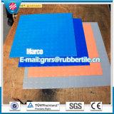 Antibeleg-Gummifußboden-Farben-Gummifußboden-Flamme Retardent Bodenbelag-Gymnastik-Gummibodenbelag