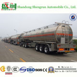 3 tanker-LKW-halb Aluminiumschlußteil der Wellen-450000L flüssiger Brennöl