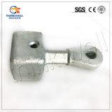 Línea hardware/de /Overhead de la horquilla del socket ojo de acero galvanizado del socket