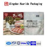 Прокатанная упаковка супа лапши кладет пластичный мешок в мешки упаковки еды