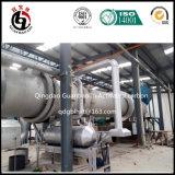 Betätigter Kohlenstoff-Drehofen von der GBL Gruppe