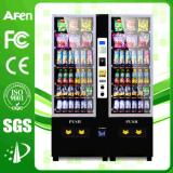 Bebidas pequeñas y bocadillos Máquina expendedora combinada