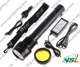 HID Flashlight 24With35With50With65With75With85W com Rechargeable Battery