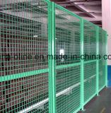 Ограждать перегородки сетки сделанный из провода металла