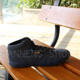 Ботинки холстины вулканизированное резиновый Outsole (SNC-02156)