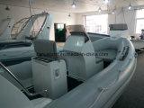 Certificado CE de 17 pies liya Yates de pesca de China inflables Barcos Especialistas