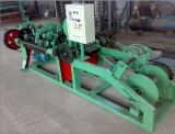 직류 전기를 통한 PVC Coate 면도칼 철사 길쌈 기계