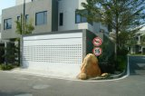 自動またはElectric Remote Control Aluminum Roller Garage Door (HA80+HA80-2)