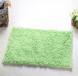 Stuoie di bagno Shaggy del pavimento del portello dell'acquazzone della stanza da bagno del Chenille del cotone di Microfiber