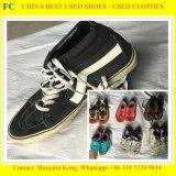 Hete Verkoop van de Prijs van de goede Kwaliteit de Goede in de Afrika Gebruikte Schoenen van het Leer (fcd-002)