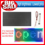 P10 SMD Indoor 1 Unit LED Module Size Is 320*160mm 32*16 Pixels 1/4 Scans for Full Color Programmable LED Scrolling Display