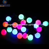 Christmas RGB LED Ball String Light