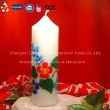 China Wholesale Colorful Pillar Candle