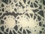 Grueso de aguja de hilo Teñido Single Fleece Jersey