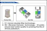 De calidad superior importado alemán de 808nm diodo láser 600W de barras con oro de Tecnología de Soldadura