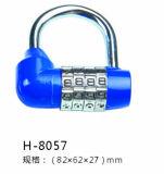Cadenas de combinaison, cadenas de sac, cadenas H-8057 de zinc
