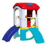 Glissière en plastique Playsets (M11-09201) de gosses de cour de jeu de combinaison