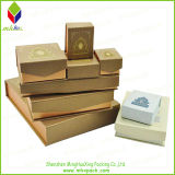 Caixa de jóia de empacotamento personalizada luxo do indicador