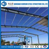Construction pré conçue de bride de fixation de bâti en acier avec de l'acier galvanisé par IMMERSION