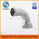Heißer Sell Edelstahl Pipe Press Fitting 90 Degree ein Type Famale Elbow
