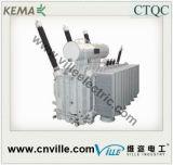 de Transformator van de Macht 50mva 220kv met op de Wisselaar van de Kraan van de Lading