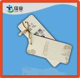 Papier personnalisé en carton Garment Hang Tags avec String
