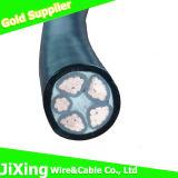 Câble de fil blindé en acier de pouvoir de XLPE