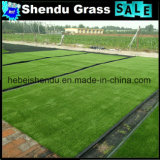 Grama da paisagem com cor verde 10mm para a decoração