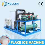 Máquina de gelo com flocos de grande capacidade com Alemanha Compressor Bock