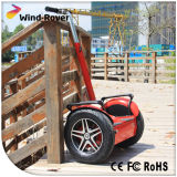 Vehículo eléctrico eléctrico del balance del uno mismo de la vespa de motor de la vespa 2000W del vagabundo del viento