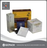 Equipamento da película de embalagem do celofane da caixa da medicina auto