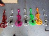 Violino elettrico acrilico degli strumenti musicali