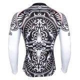 Reihe des Schürhaken-Königs David Cycling Shirts für im Freiensport-lange Hülse Jersey
