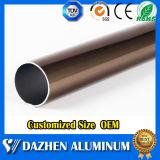 Perfil de alumínio de alumínio da melhor câmara de ar redonda da qualidade com anodizado