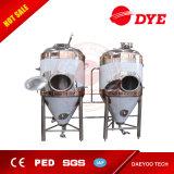 Industrieller Edelstahl-konisches Gärungserreger-Bier-Geräten-Becken