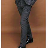 人のためのウールのスーツのズボン