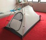 Het aluminium maakt het Silicone van 3 Seizoen waterdicht Met een laag bedekkend Ultralight Kleine het Kamperen Tent Backpacking
